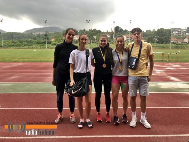Требињским атлетичарима два наслова државног првака