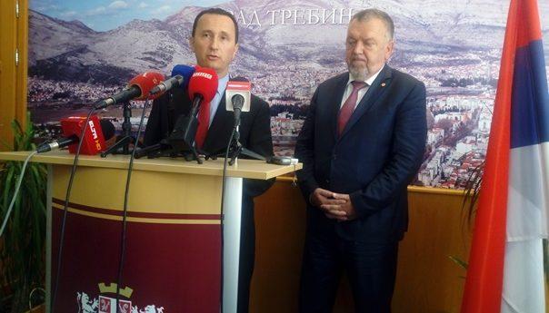 Трнинић у Требињу најавио реконструкцију и изградњу нових путева: Херцеговина није запостављена