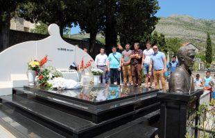Шампион није заборављен: Деценија од смрти Милоша Мрдића
