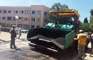 Почело асфалтирање главне улице