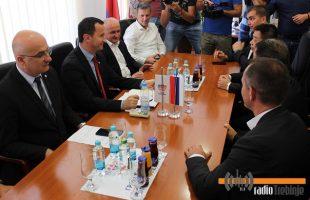 Министар Ђокић са потенцијалним инвеститорима посјетио Требиње