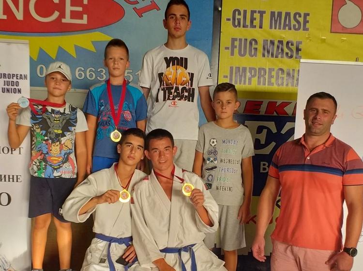 Џудисти Леотара освојили четири медаље