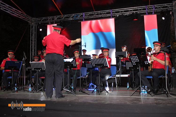 Полицијски оркестар одржао концерт у Требињу