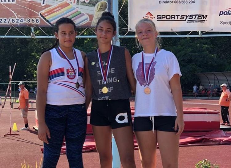 Атлетичари освојили осам медаља у Сремској Митровици