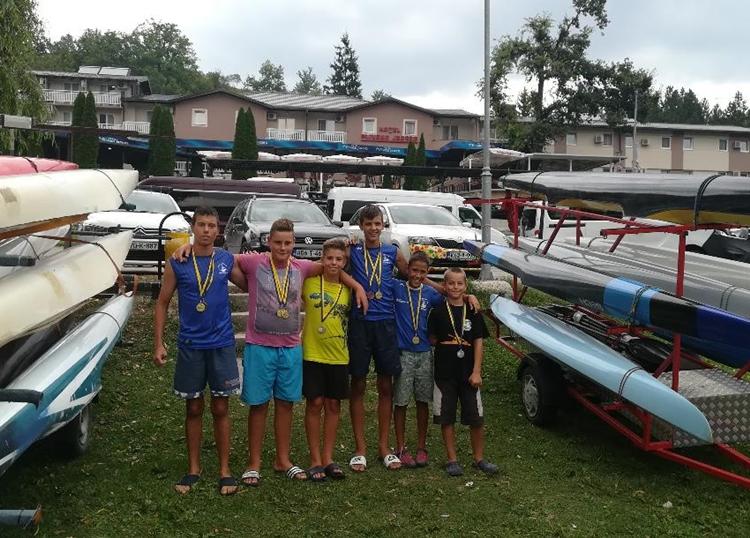 Чланови Kајак кану клуба Требишњица освојили шест медаља