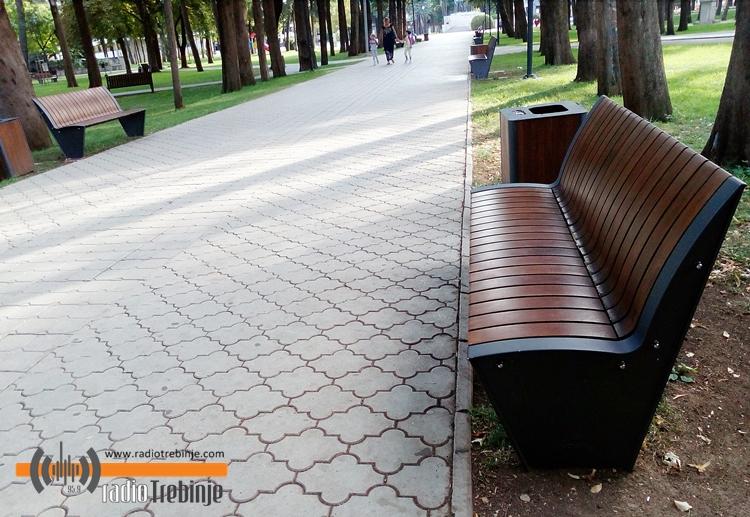 Допуњена комунална опрема у градском парку
