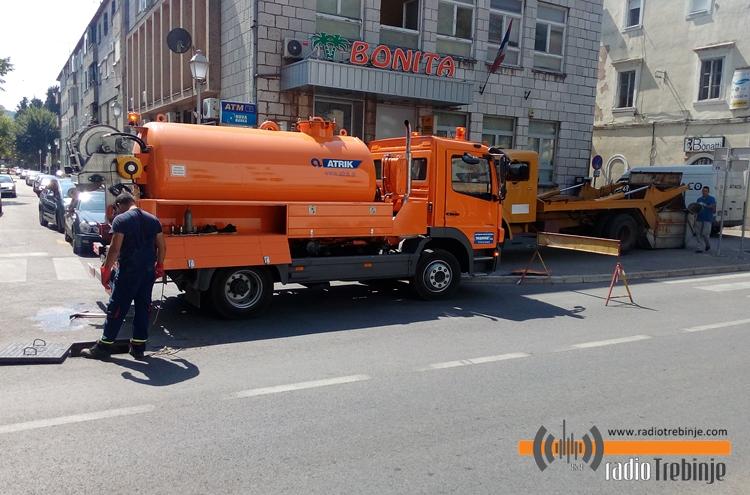 У току акција чишћења оборинске канализације
