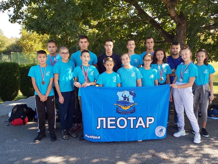 Пливачима Леотара четрнаест медаља у Ваљеву