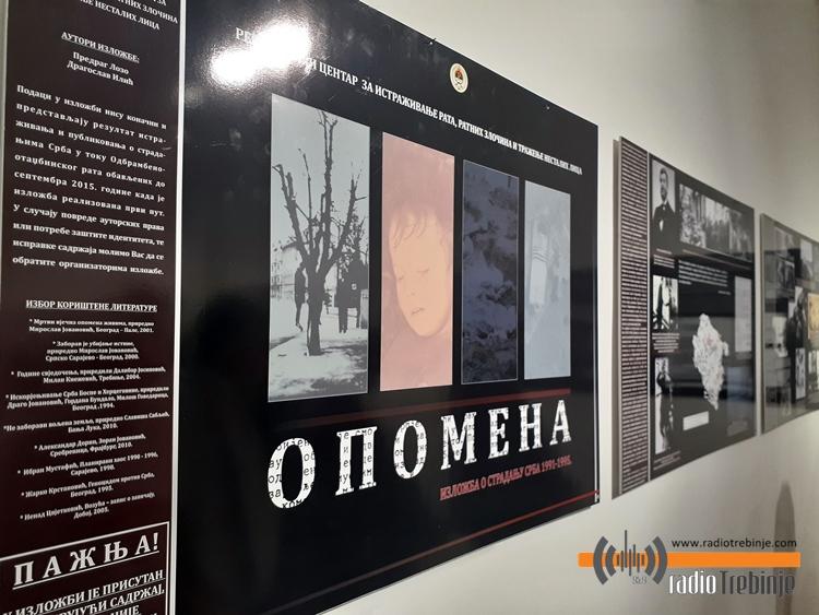 Izložbe o stradanju srpskog naroda