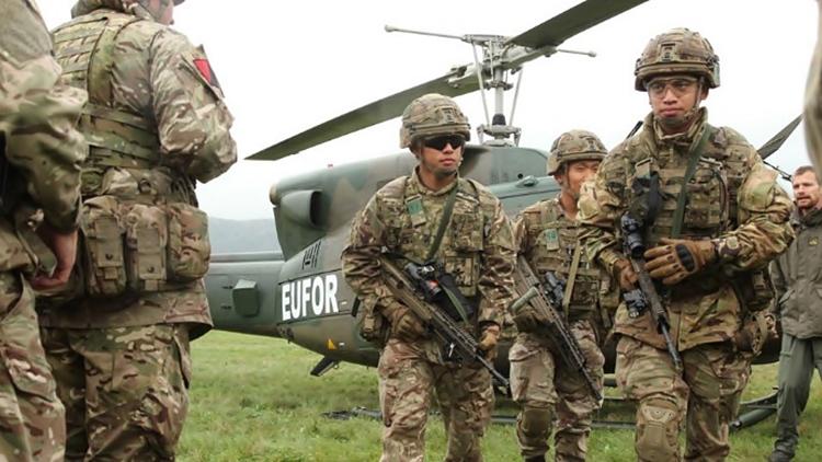Због војне вјежбе повећано присуство хеликоптера