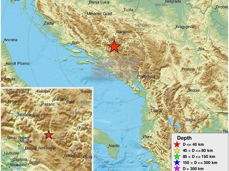 Нови земљотрес у Невесињу