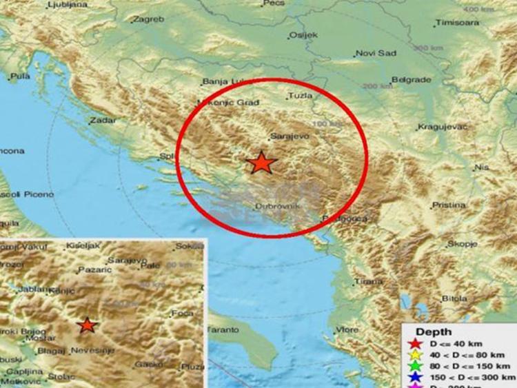 Ново подрхтавање: Земљотрес код Невесиња