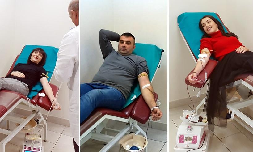 Медијски радници даривали крв