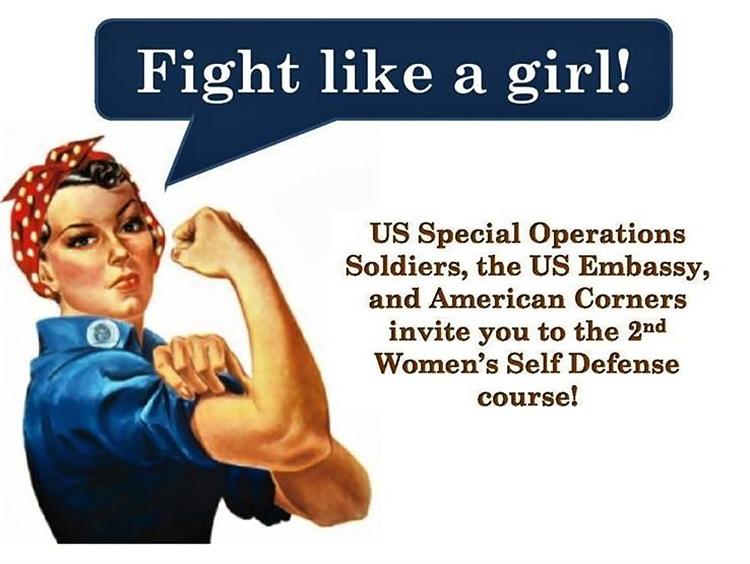 Бесплатан курс самоодбране за жене
