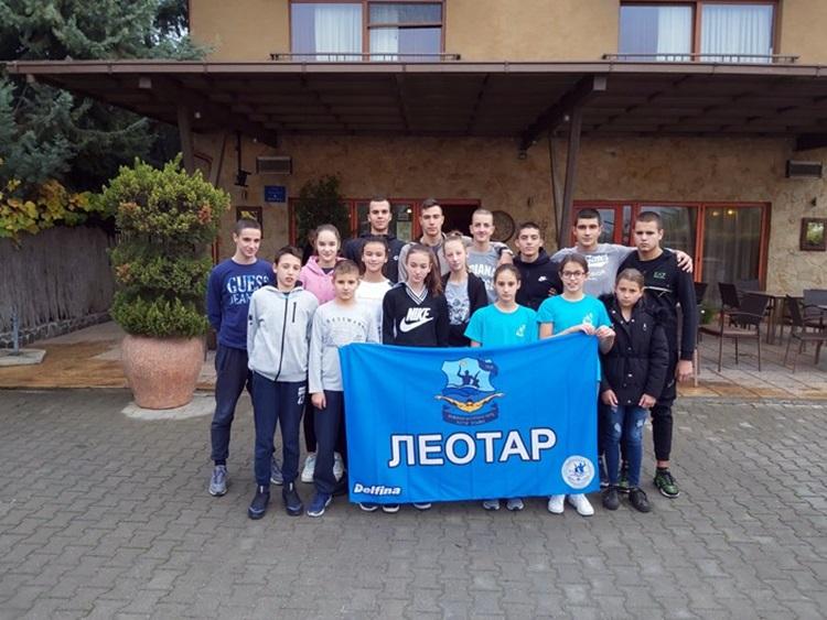 Plivači Leotara osvojili pet medalja u Skoplju