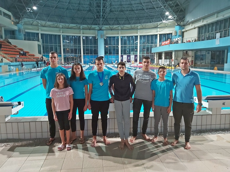 Милош Ћеранић првак БиХ у пливању на 50 метара делфин