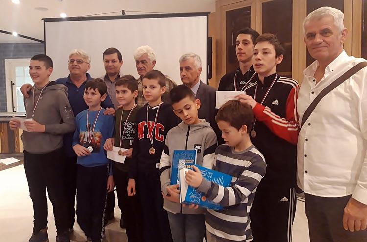 """Šahisti iz Nikšića i Bijeljine najbolji na memorijalu """"Mirko Albijanić"""""""
