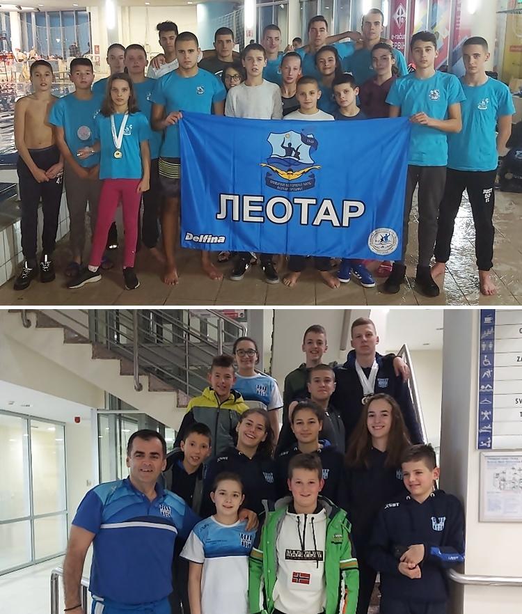 Медаље у Сарајеву за пливаче оба требињска клуба