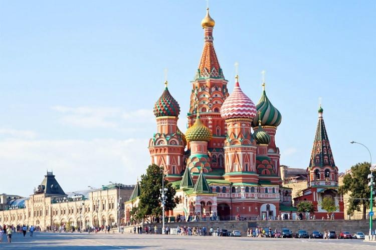 Раскош Москве у једној грађевини