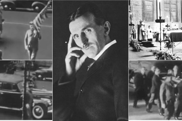 Autentični snimak sahrane Nikole Tesle: Umro je sam i zaboravljen
