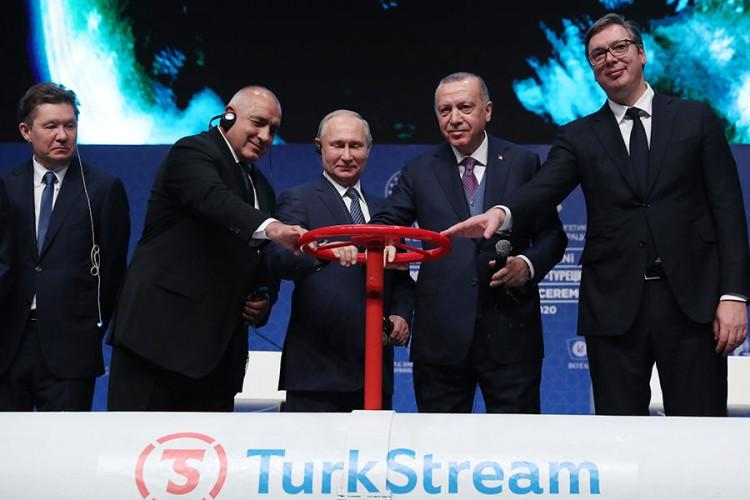 Пуштена у рад дионица гасовода Турски ток: Пројекат од користи за милионе људи у Европи