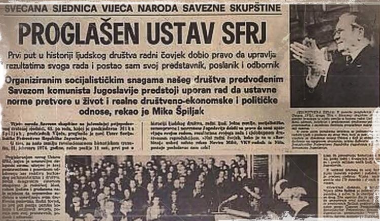 Устав из 1974. године - почетак краја