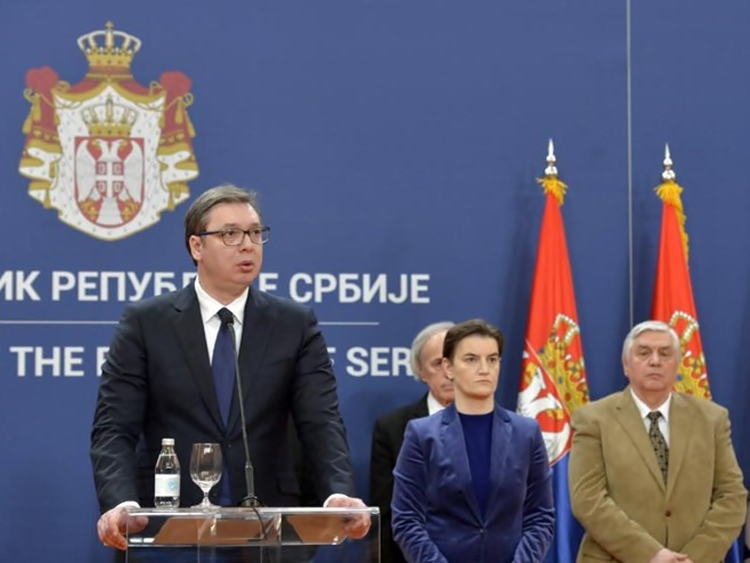 Проглашено ванредно стање у Србији