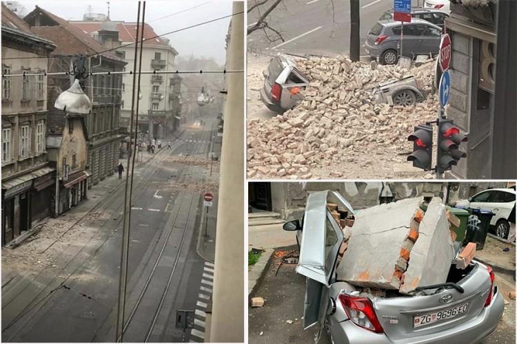 Snažni zemljotresi pogodili Zagreb