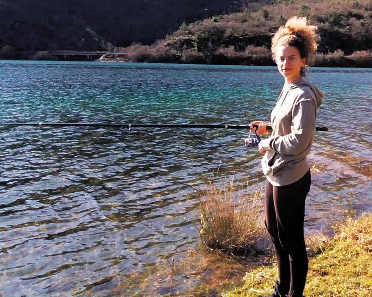 На пецању са Хеленом: У риболову никад није досадно