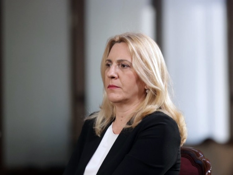 Predsjednica Srpske na proslavi krsne slave VRS u Trebinju