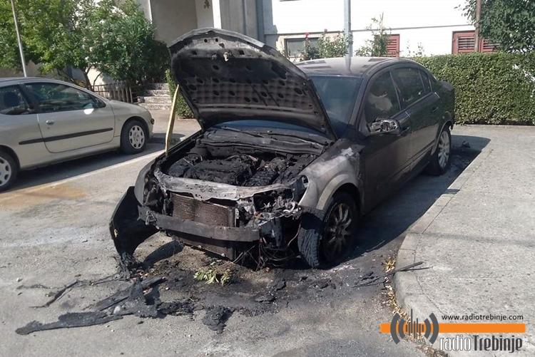 Горио аутомобил у Горици