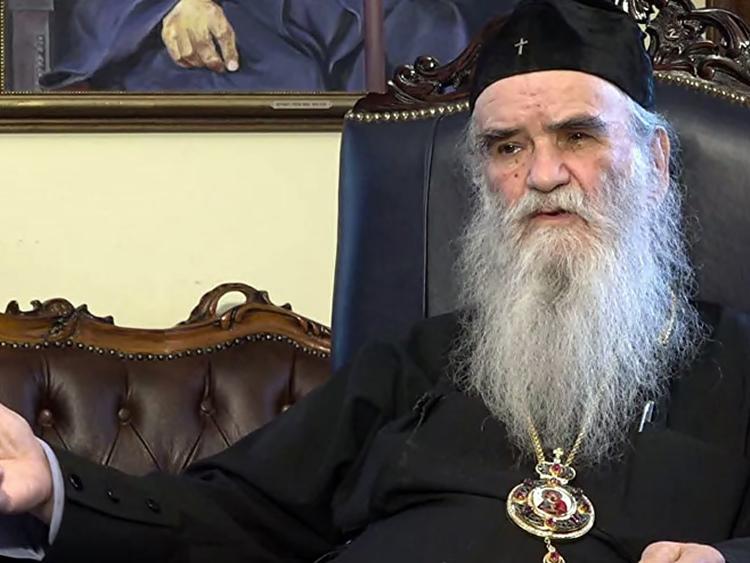 Митрополит Амфилохије: Нећу умријети док на врх Ловћена не вратим Његошеву цркву