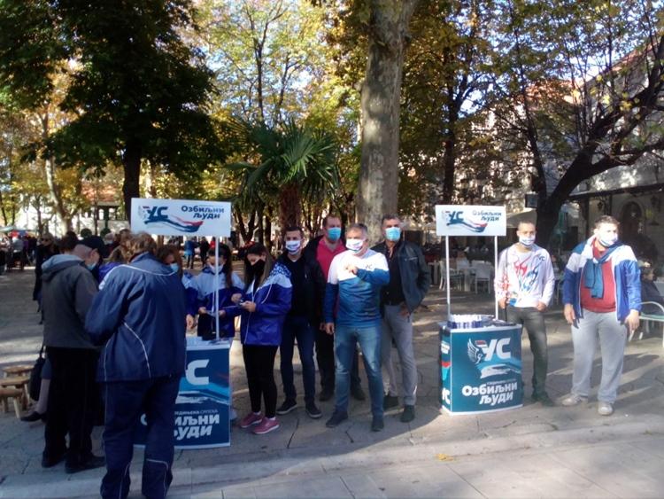 Koalicija Ujedinjena Srpska - Partija ujedinjenih penzionera: Očekujemo najbolji izborni rezultat