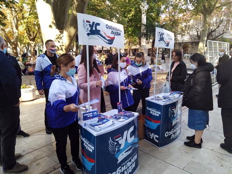 Koalicija Ujedinjena Srpska - Partija ujedinjenih penzionera: Očekujemo tri odbornička mandata