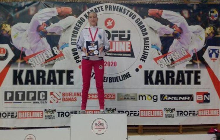 Анастасија Копривица забиљежила неколико запажених резултата на турнирима у РС и Црној Гори