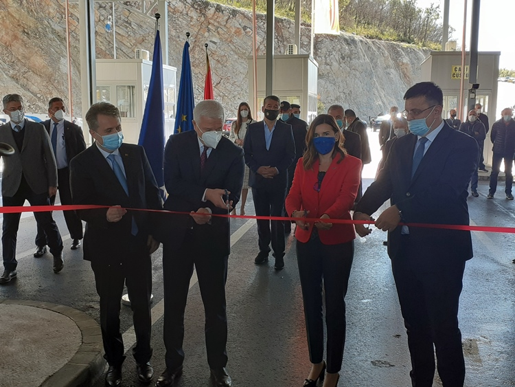 Тегелтија и Марковић отворили гранични прелаз Враћеновићи – Делеуша