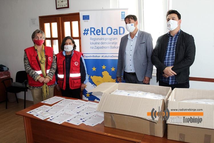 Центар за одрживи развој и екологију донирао 5.500 заштитних маски
