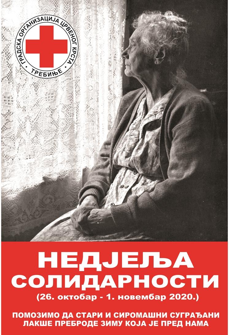 """Црвени крст: Почела """"Недјеља солидарности"""""""
