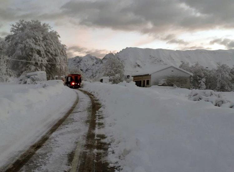 На Чемерну зимска идила - пут проходан