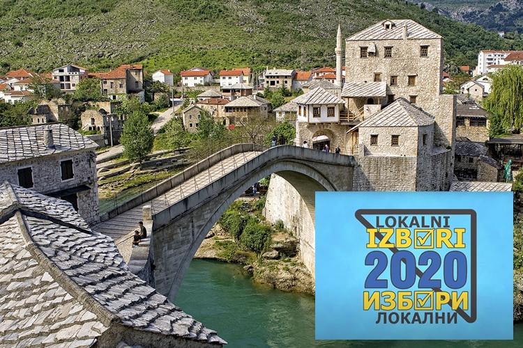 ГИК Требиње: Гласање у одсуству на изборима у Мостару у МЈЕСНОЈ ЗАЈЕДНИЦИ ЦЕНТАР